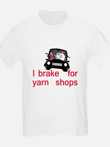Brake for yarn shops T-Shirt