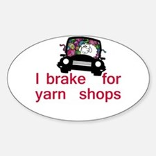Brake for yarn shops Decal