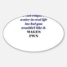 mage03.jpg Sticker (Oval)