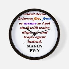mage03.jpg Wall Clock