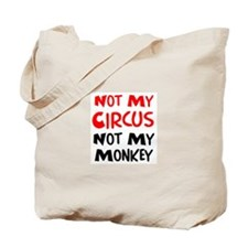 circus monkey Tote Bag
