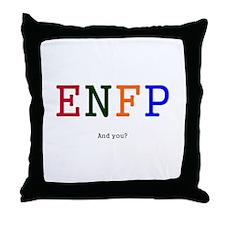 ENFP.jpg Throw Pillow