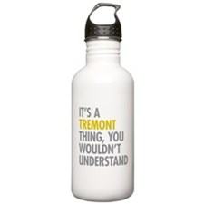 Tremont Bronx NY Thing Water Bottle