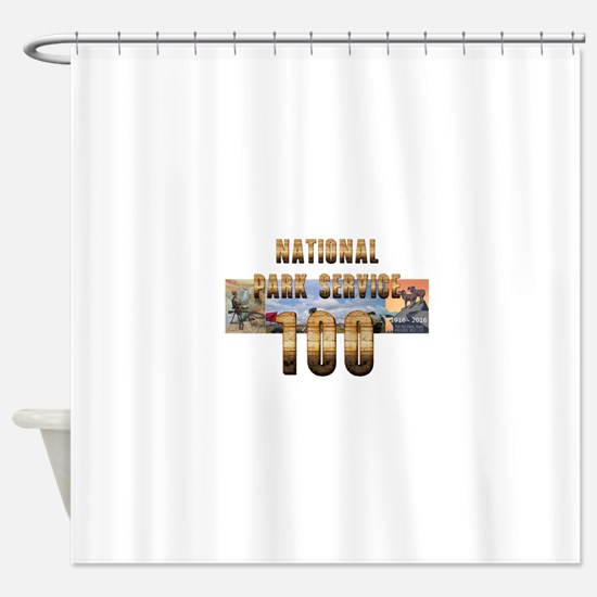 ABH NPS 100th Anniversary Shower Curtain