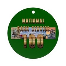 ABH NPS 100th Anniversary Round Ornament