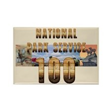 ABH NPS 100th Anniversary Rectangle Magnet