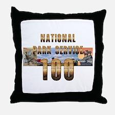ABH NPS 100th Anniversary Throw Pillow