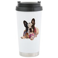 FrenchBulldogPupPied Travel Mug
