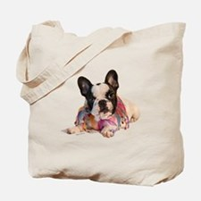 FrenchBulldogPupPied Tote Bag