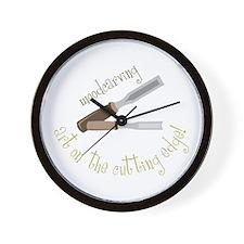 Woodcarving Wall Clock
