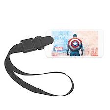 Captain America Luggage Tag