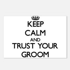 Keep Calm and Trust your Groom Postcards (Package