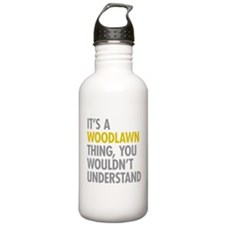 Woodlawn Bronx NY Thin Water Bottle