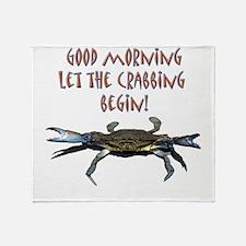 crabB.png Throw Blanket