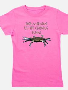 crabB.png Girl's Tee