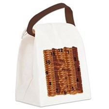 Bacon Time Canvas Lunch Bag