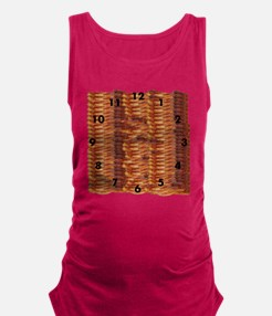 Bacon Time Maternity Tank Top