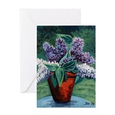 Luscious Lilac Greeting Card