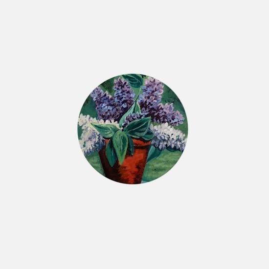 Luscious Lilac Mini Button