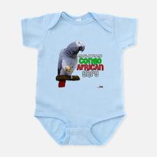 Cute African grey Infant Bodysuit