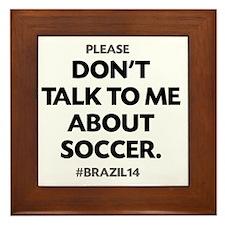 Brazil 2014 Fail Framed Tile