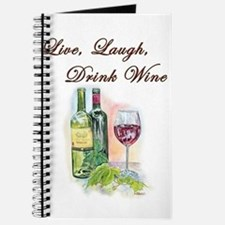 Live Laugh Wine Journal