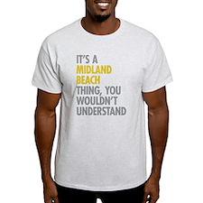 Midland Beach NY Thing T-Shirt