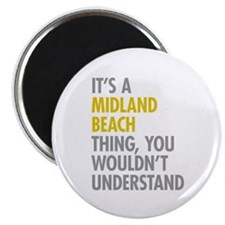 """Midland Beach NY Thing 2.25"""" Magnet (100 pack)"""
