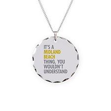 Midland Beach NY Thing Necklace