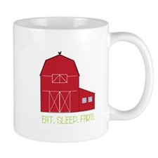 Eat Sleep Farm Mugs