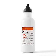 Wellbee Says, 1964 Water Bottle