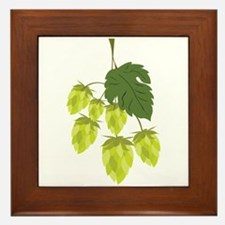 Hops Framed Tile