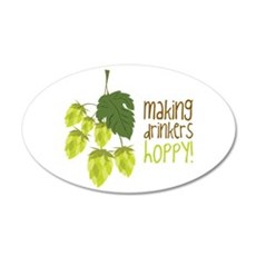 Making Drinkers Happy Wall Decal