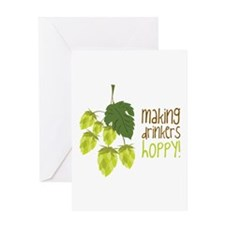Making Drinkers Happy Greeting Cards