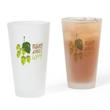 Making Drinkers Happy Drinking Glass