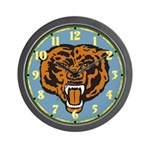 Fierce Bear Wall Clock