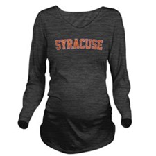 Syracuse - Jersey Long Sleeve Maternity T-Shirt