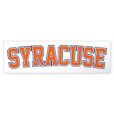 Syracuse - Jersey Bumper Bumper Sticker