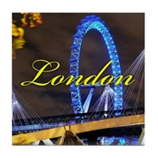 Millennium Wheel London Tile Coaster