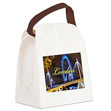 Millennium Wheel London Canvas Lunch Bag