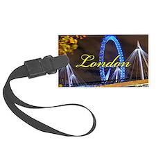 Millennium Wheel London Luggage Tag