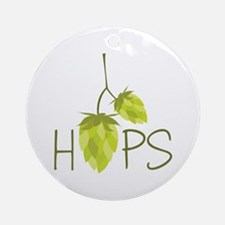 Hops Ornament (Round)