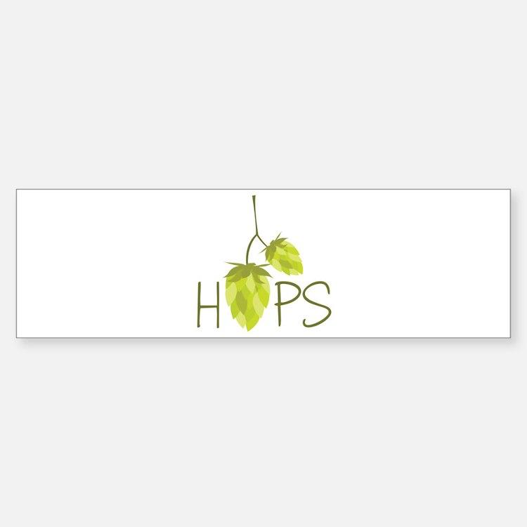 Hops Bumper Bumper Bumper Sticker