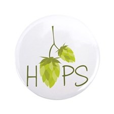 "Hops 3.5"" Button (100 pack)"