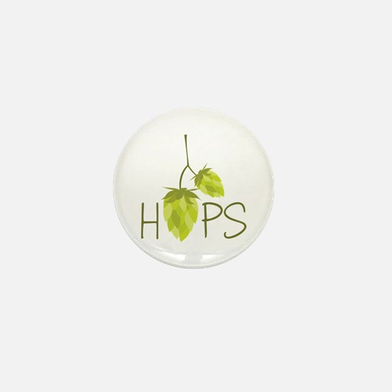 Hops Mini Button (10 pack)