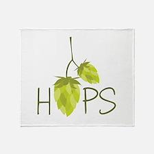 Hops Throw Blanket
