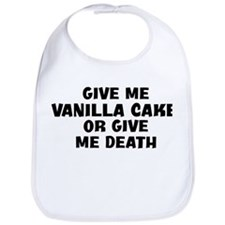 Give me Vanilla Cake Bib