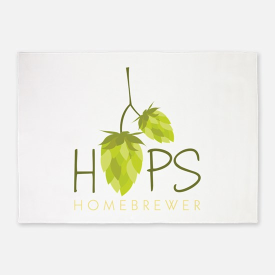 Homebrewer 5'x7'Area Rug