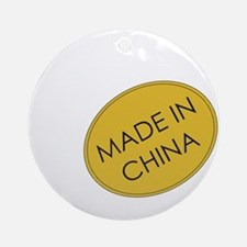 Madeinchina.png Ornament (round)