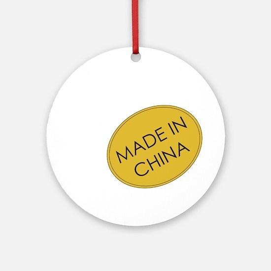 Madeinchina.png Ornament (round)